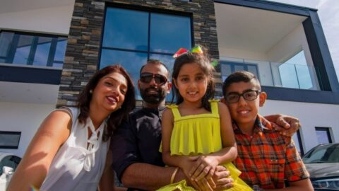 Dheeraj and Family Featured in The Sun (Plot 201)