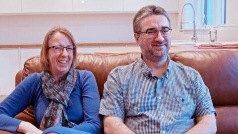 Anita & Peter on the Graven Hill Website (Plot 8)